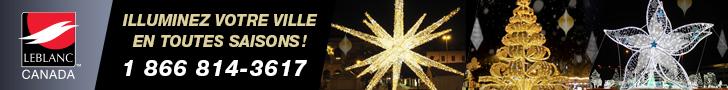 Leblanc Illuminations | Illuminez votre ville en toutes saisons !
