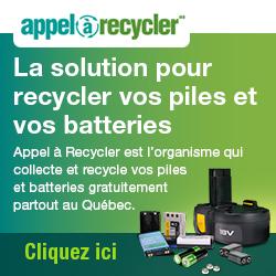 Appel à recycler: La solution pour recycler vos piles et vos batteries